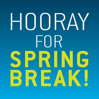 Hooray for Spring Break at the Atrium Le 1000 skating rink! From March 2 to 6, 2015.