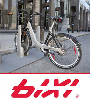 Montreal's BIXI Bikes Are Back At Le 1000 De La Gauchetière!