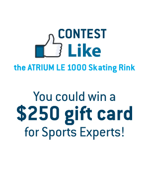 Facebook Contest: I Like the Atrium Le 1000