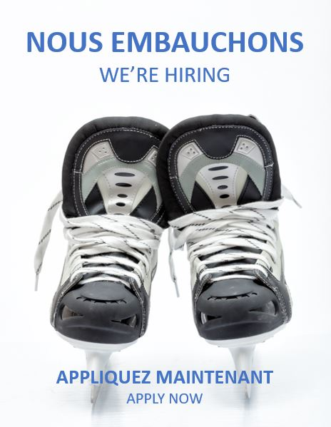 We're hiring! Job opportunity at Atrium Le 1000