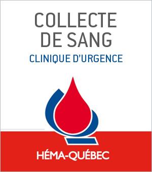 Collecte de sang - clinique d'urgence le 26 mai 2014 dans Le Hall du 1000 De La Gauchetière