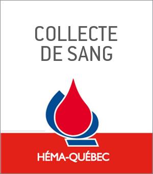 Collecte de sang - Le mardi 21 juillet 2015 dans Le Hall du 1000 De La Gauchetière