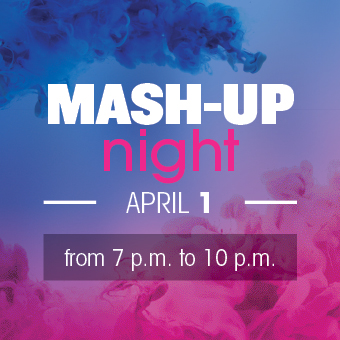 Mash-up night april 2017
