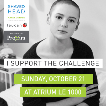 Leucan Shaved Head Challenge