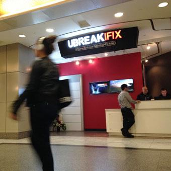 Le 1000 souhaite la bienvenue à uBreakiFix