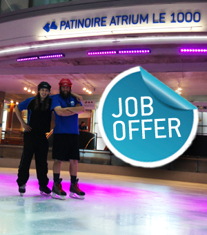 Job Opportunity at the Skating Rink
