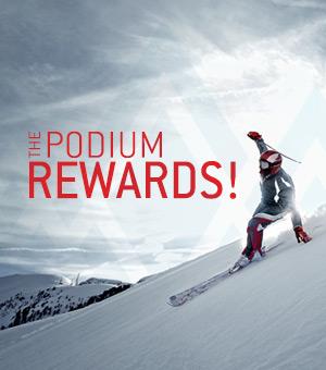 The Podium Rewards at the Atrium Le 1000 indoor skating rink.
