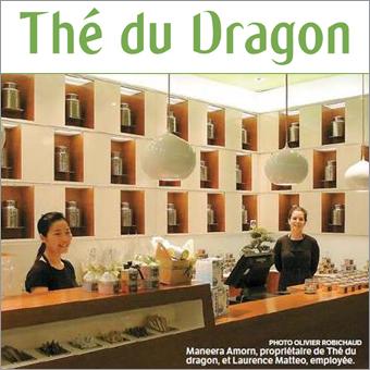Boutique Thé du Dragon près du Métro Bonaventure, figure parmi les Top 6 selon les actualités 24 h