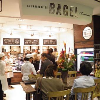 Le 1000 souhaite la bienvenue à La fabrique de bagel de Montréal