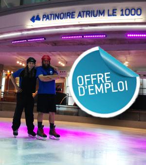 Opportunité d'emploi à la patinoire - Moniteur - Septembre 2014