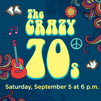 Saturday Craze at the Atrium Le 1000 skating rink - On Saturday, September 5, it's all about the crazy 70s!
