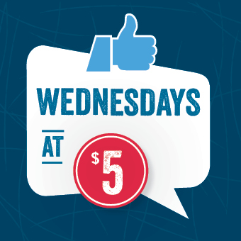 Starting at 4 p.m. every Wednesdays, enjoy $5 specials at the Atrium Le 1000 skating rink