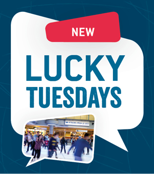 Skate and you could win starting at 4 p.m. every Lucky Tuesdays
