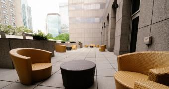 Centre de conférences Le 1000 - Exterior terrasse