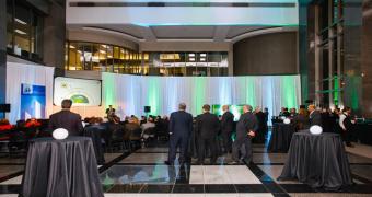 Le Hall - Award ceremony setup at Le 1000 De La Gauchetière