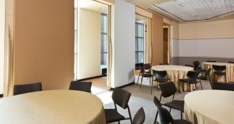 Salle de Bransat - Aménagement de style banquet