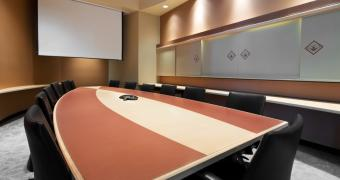 Carleton - Conference room setup accommodating 12 participants