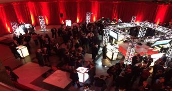 Le Hall - Espace aménagé-Cocktail au 1000 De La Gauchetière